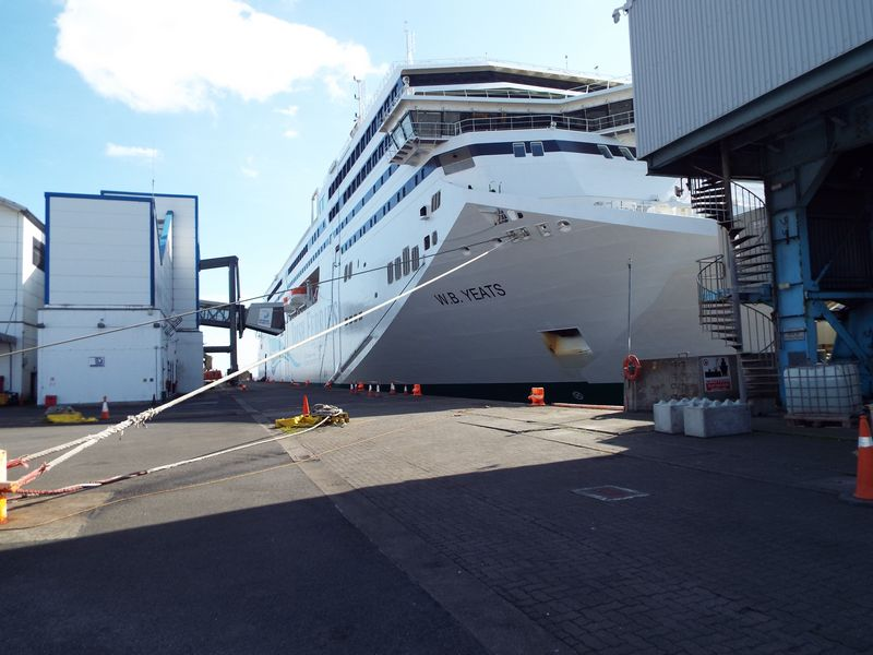 NQA servicing €144 million WB Yeats cruise ferry in Dublin Port